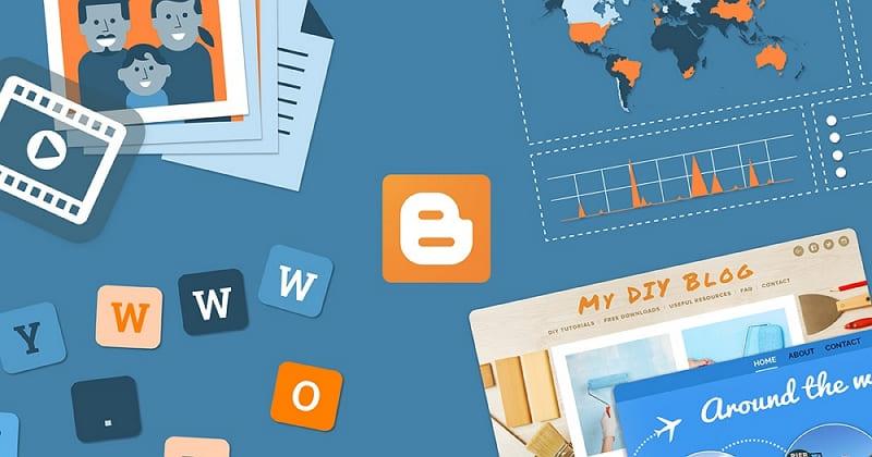 Установка вертикальных кнопок соцсетей в Blogger 1