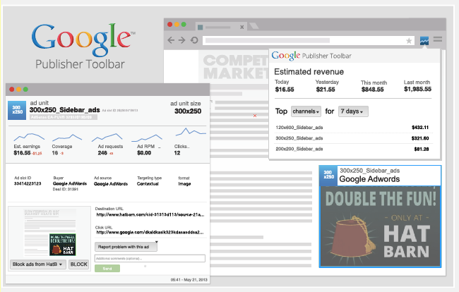 adsense- publisher-toolbar