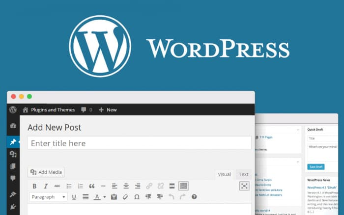 Создайте сайт на WordPress
