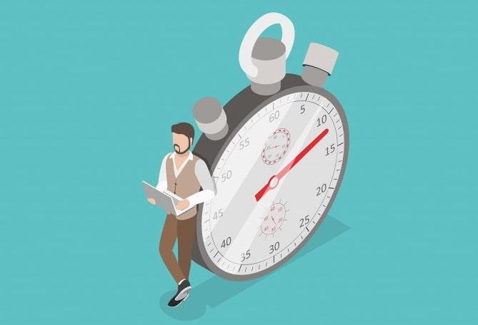 Время загрузки блога