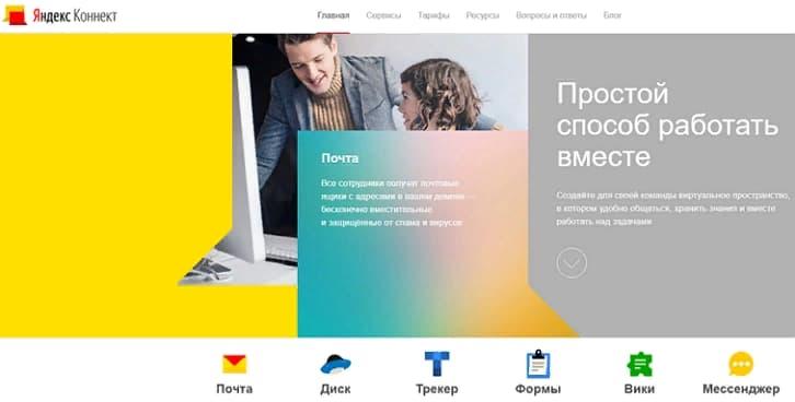 Яндекс.Коннект — это набор сервисов