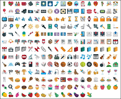 Emoji-One-emoticons
