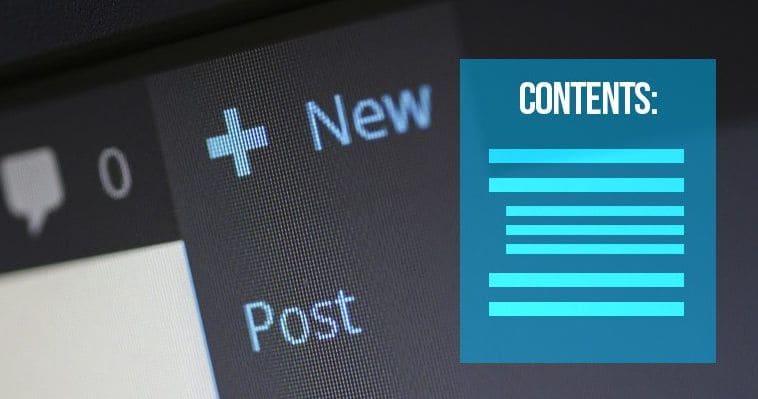 Как создать оглавление в постах и страницах WordPress