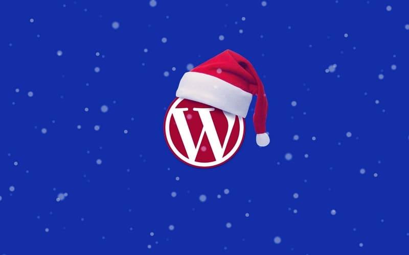 Включите снежинки или снег на WordPress-сайте