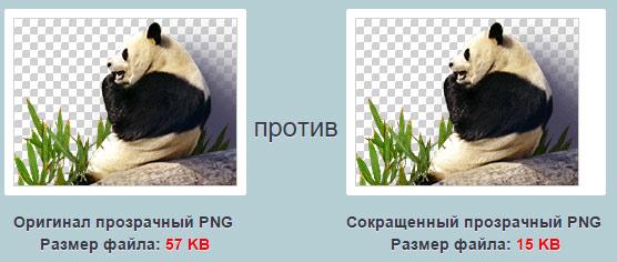 Сжатие изображений на сервисе PunyPNG
