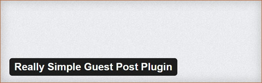 Really-Simple-Guest-Post-Plugin