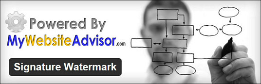 Плагин Signature Watermark - добавление водяных знаков на изображения