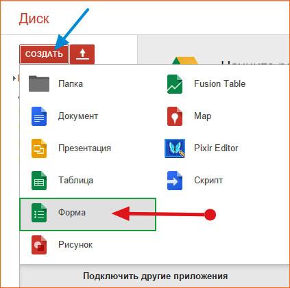 Провести опрос на своем сайте поможет замечательный сервис от Google - Google Forms
