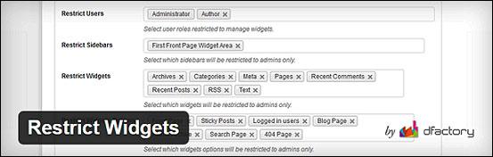Как показать или скрыть виджеты на определённых страницах WordPress