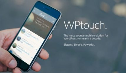 Мобильная версия WordPress — плагин WPtouch