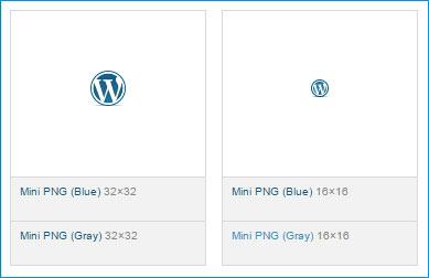 Официальный WordPress логотип