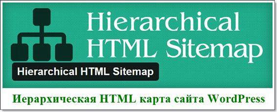 Карта сайта (HTML Sitemap) WordPress