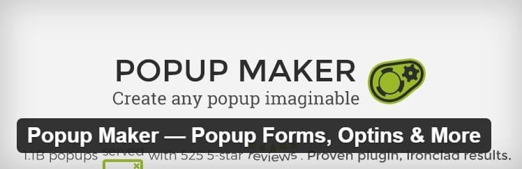 Popup Maker ™ - лучший плагин для всплывающих окон, который WordPress предлагает