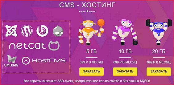 CMS-хостинг