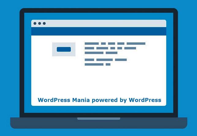 Сайт работает на WordPress