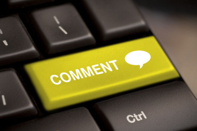 Комментарии в блоге