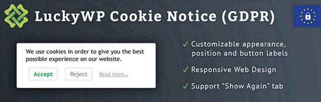 Уведомление Cookie (GDPR)