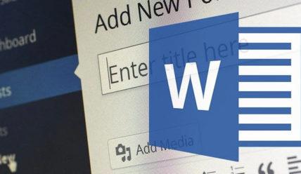 Перенос статьи из документа Word в WordPress