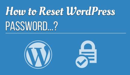 Как изменить пароль WordPress. 4 способа