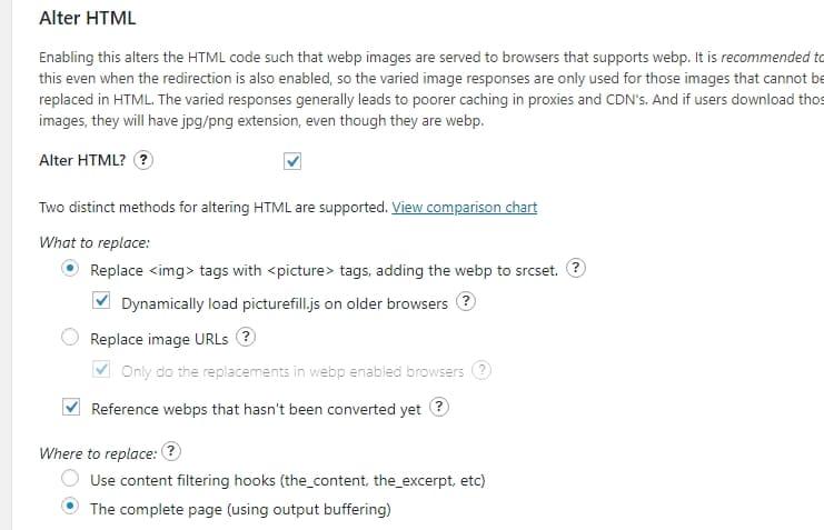 Изображения webp доставляются в браузеры, которые поддерживают webp