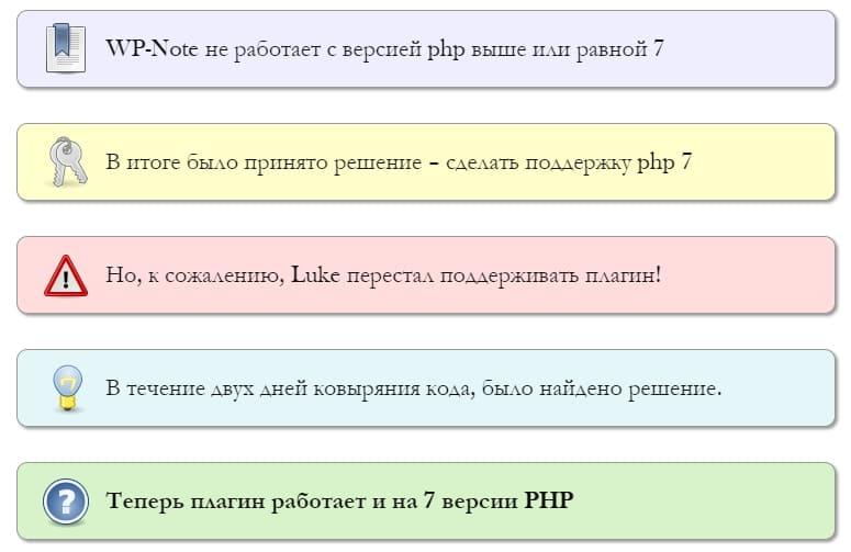 WordPress плагин блок внимания с изображением