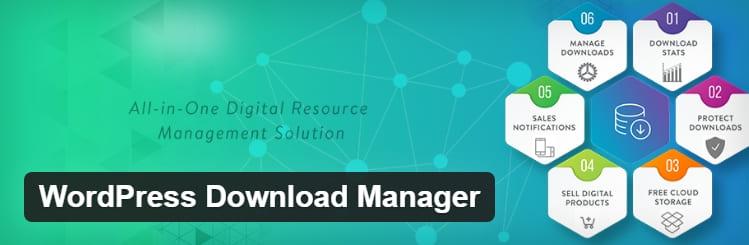 WordPress Download Manager позволяет управлять, отслеживать и контролировать загрузку файлов с сайта WordPress