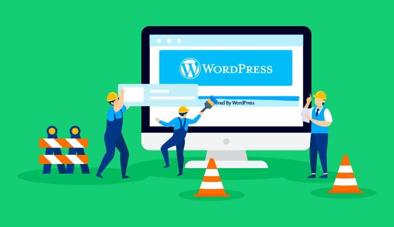 Как удалить ссылки нижнего колонтитула Powered by WordPress