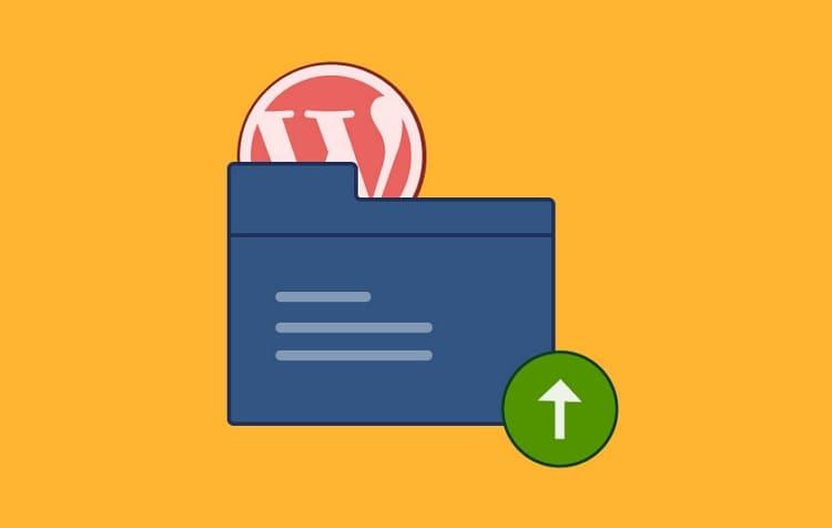 Как загрузить и скачать файл с сайта WordPress