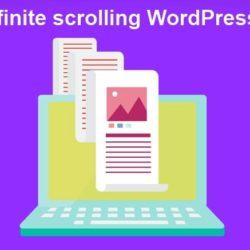 Бесконечная прокрутка для сайта WordPress