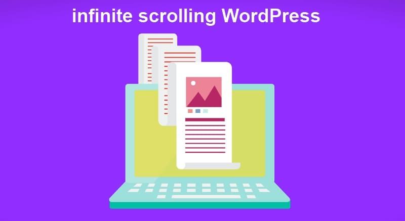 Как легко добавить бесконечную прокрутку в WordPress