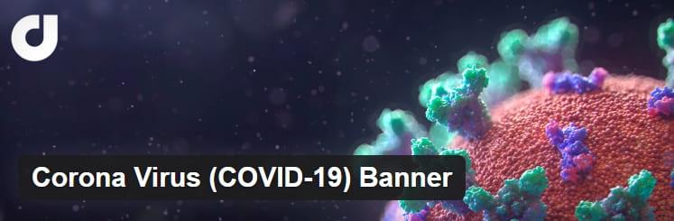 Дать владельцам веб-сайтов добавить уведомление COVID-19