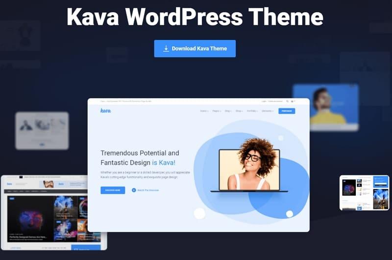 Мощная и быстрая тема для блогов WordPress