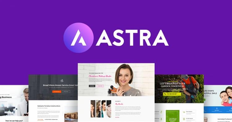 Astra - это быстрая, полностью настраиваемая и красивая тема WordPress