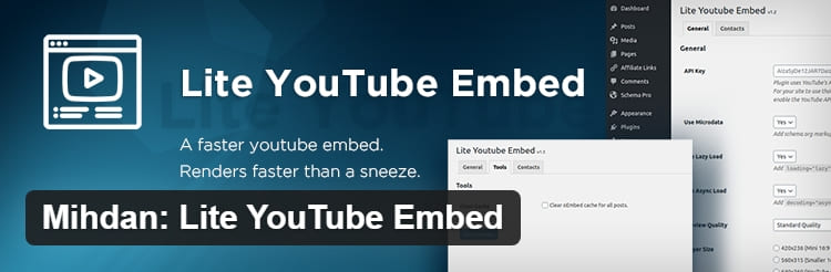 Плагин WordPress, который можно использовать для встраивания видео YouTube в ВордПресс