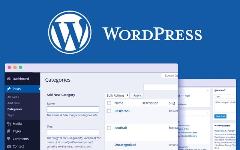 Изменить или удалить категорию Без рубрики WordPress