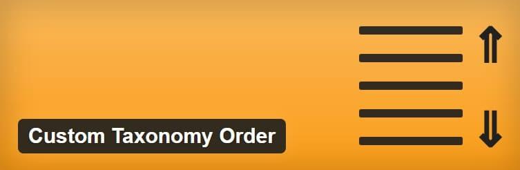 Custom Taxonomy Order - плагин WordPress позволяет упорядочивать термины таксономии