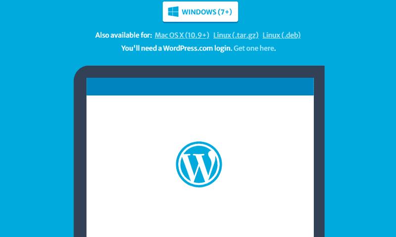 Скачать настольное приложение WordPress