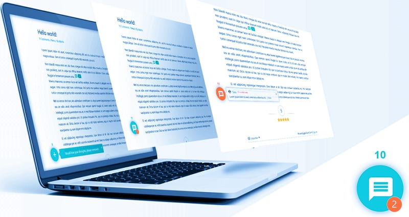 Специальный значок залипшего комментария на ваших веб-страницах