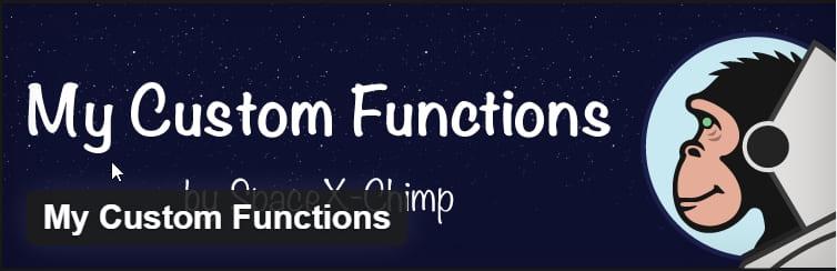 Как правильно добавить свой код в functions.php