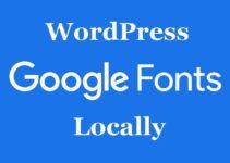Оптимизация шрифтов. Как подключить Google Fonts локально?