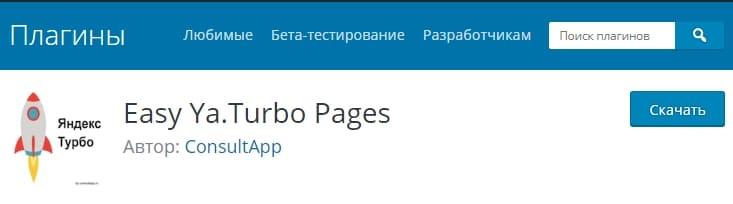 Яндекс Турбо-страницы. Как подключить RSS-каналы WordPress 2