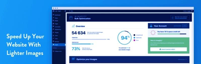 Imagify - Оптимизация изображений и преобразование WebP