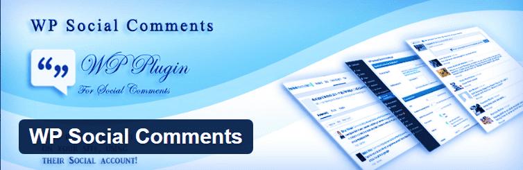 Комментарии WordPress в соцсетях Facebook