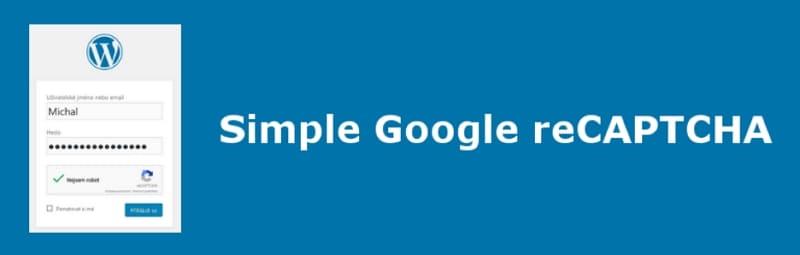 Простая Google reCAPTCHA для сайта WordPress