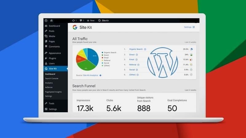 Site Kit от Google для сайта WordPress