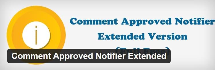 Уведомление об одобрении комментариев на сайте WordPress