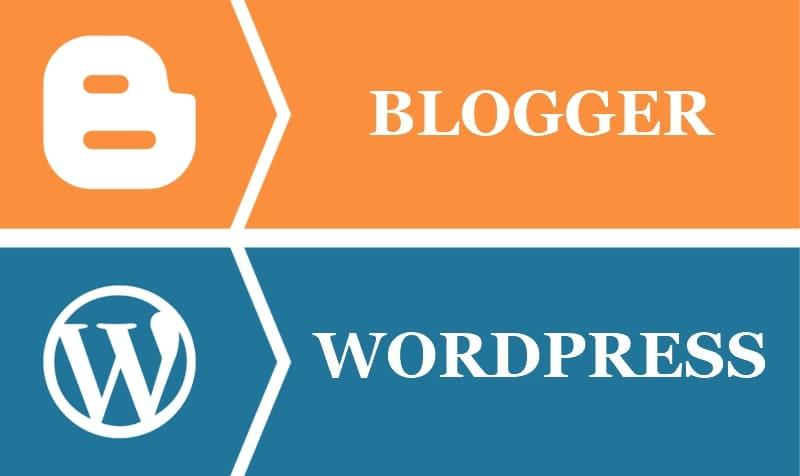 Перенос (импорт) блога / сайта с Blogger на Wordpress