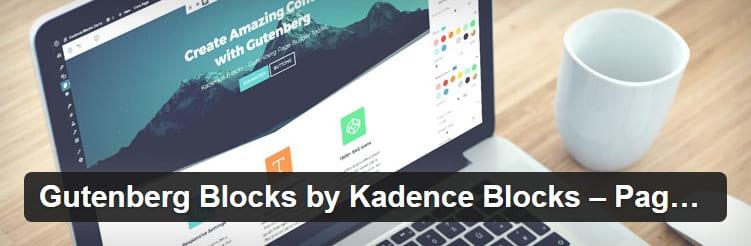 Блоки Kadence - набор инструментов для создания страниц WordPress