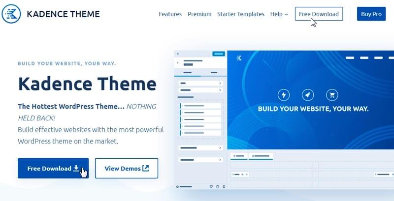 Скачать тему WordPress Kadence Theme бесплатно