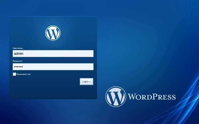 WordPress без пароля - вход с помощью лица или отпечатка пальца